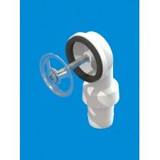 Круглый перелив С1 (нержавеющая решетка) для керамических моек